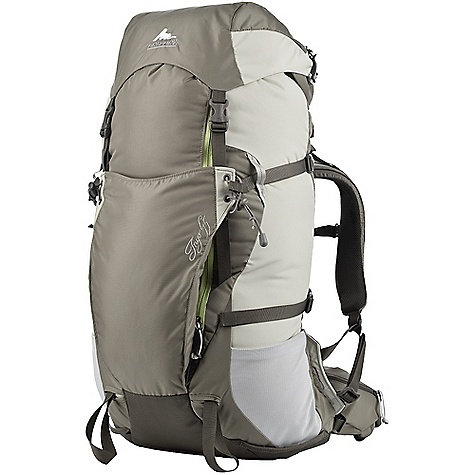 On Sale. Free Shipping. Gregory Women's Inyo 45 Pack DECENT FEATURES of the Gregory Women's Inyo 45 Pack Fusion LTS suspension Women's specific harness, waist belt and molded foam backpanel Removable frame sheet and 1/2in. 7075-T6 aluminum stay Separating skirt with a zipper that runs the length of the pack for huge main pack body access Large front gusseted pocket Full side and top compression Gear loop and zippered pocket on waist belt Dual side mesh water bottle pockets Ice axe/trekking pole loops that can be tucked away when not in use Side attachment points with option to carry your tools/poles through compression webbing or elastic cord Dual hydration ports and interior reservoir sleeve Top lid with key clip and interior map pocket 420D HD and 245D HD plain weave fabrics Wear-resistant 1680D ballistic fabric bottom panel The SPECS for Extra Small Volume: 2624 cubic inches / 43 L Weight: 3 lbs 4 oz / 1.45 kg The SPECS for Small Volume: 2746 cubic inches / 45 L Weight: 3 lbs 6 oz / 1.50 kg The SPECS for Medium Volume: 2868 cubic inches / 47 L Weight: 3 lbs 8 oz / 1.60 kg Click to download some super information on how to properly Fit a Gregory Pack . OVERSIZE ITEM: We cannot ship this product by any expedited shipping method (3-Day, 2-Day or Next Day). Even if you pick that option, it will still go Ground Shipping. Sorry for being so mean. - $102.99