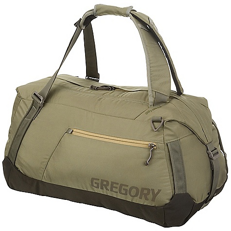 Entertainment Free Shipping. Gregory Stash Duffel DECENT FEATURES of the Gregory Stash Duffel Convertible carry system Padded top for comfort Bomber materials Multiple haul handles Accessory pocket Wide Mouth opening to main compartment provides exceptional access to interior Multiple carry options with padded backpack harness straps or in traditional duffle-style Top of bag is padded for comfortable carry against back Zippered exterior pocket with key clip Compression straps on each end 4 tubular webbing grab handles The SPECS Fabric: 800 D Ballistic and 1680 D Ballistic Nylon main body materials The SPECS for 45 Liter Volume: 45 liter Dimension: 21.5 x 13.5 x 11in. Weight: 1 lb 8 oz / 700 g The SPECS for 65 Liter Volume: 65 liter Dimension: 25 x 13.5 x 11in. Weight: 1 lb 14 oz / 850 g The SPECS for 95 Liter Volume: 95 liter Dimension: 29 x 16 x 11in. Weight: 2 lbs / 900 g The SPECS for 115 Liter Volume: 115 liter Dimension: 29 x 17.5 x 14in. Weight: 2 lbs 6 oz / 1.1 kg Click to download some super information on how to properly Fit a Gregory Pack . - $78.95