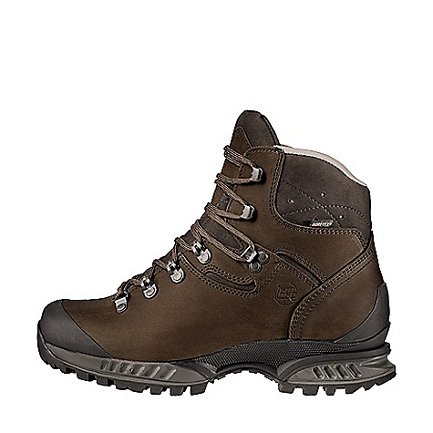Camp and Hike Free Shipping. Hanwag Men's Tatra GTX Boot FEATURES of the Hanwag Men's Tatra GTX Boot Padded soft leather cuff with vent holes Protective heel and toe caps Available with a Gore-Tex or leather lining Lower upper and 2 lace hooks instead of 3 up to size 8 Very lightweight thanks to incorporation of a (stiffening) shank into the midsole Very supportive Trekking profile with impact and braking tread blocks - $324.95