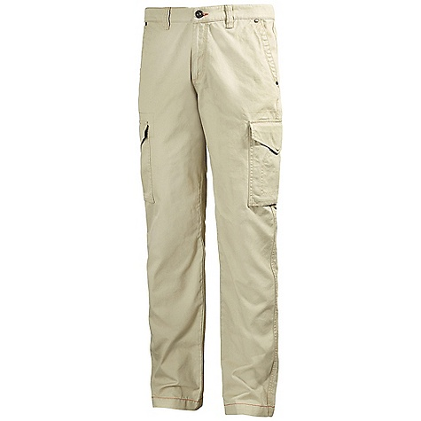 Free Shipping. Helly Hansen Men's Strand Cargo Pant DECENT FEATURES of the Helly Hansen Men's Strand Cargo Pant 100% Cotton washed out Regular fit The SPECS Fabric: 100% Cotton Weight: 655 g This product can only be shipped within the United States. Please don't hate us. - $119.95