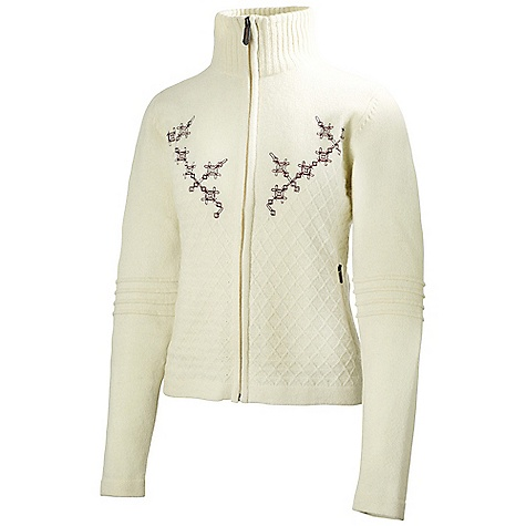 Ski Free Shipping. Helly Hansen Women's Embla Ski Knit Sweater DECENT FEATURES of the Helly Hansen Women's Embla Ski Knit Sweater 100% Lambswool Windproof lining The SPECS Weight: 450 g Fabric: 100% Lambswool This product can only be shipped within the United States. Please don't hate us. - $249.95