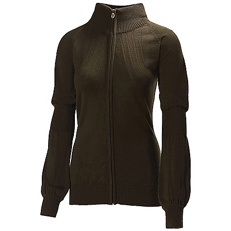 Free Shipping. Helly Hansen Women's Harmony F-Z Knit Sweater DECENT FEATURES of the Helly Hansen Women's Harmony F/Z Knit Sweater 100% Mercerized Wool 12 Gage The SPECS Weight: 380 g Fabric: 100% Wool This product can only be shipped within the United States. Please don't hate us. - $139.95