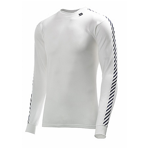 Features of the Helly Hansen Men's HH Lifa Stripe Crew Top LIFA Stay dry Technology Dry next to skin Low bulk cuffs Flatlock stitching Allergy neutral Non itch Lightweight - $24.99