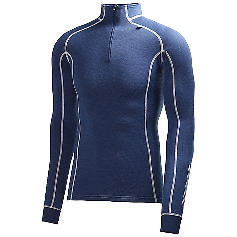 Free Shipping. Helly Hansen Men's HH Warm Freeze 1-2 Zip Top DECENT FEATURES of the Helly Hansen Men's HH Warm Freeze 1/2 Zip Top HH Warm 1/2 Zip Chest Flat lock stitching 2-in-1 first and second layer Dry next to skin, warm, non itch and alergy neutral The SPECS Fitting: Regular 57% Merino Wool, 43% Polypropylene This product can only be shipped within the United States. Please don't hate us. - $89.95