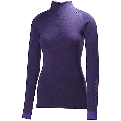 On Sale. Free Shipping. Helly Hansen Women's HH Warm Freeze 1-2 Zip Top DECENT FEATURES of the Helly Hansen Women's HH Warm Freeze 1/2 Zip Top Hh Warm 1/2 Zip chest Flat lock stitching 2-in-1 first and second layer Dry next to skin, warm, non itch and allergy neutral The SPECS Fitting: Regular Weight: 120 gram 57% Merino Wool, 43% Polypropylene This product can only be shipped within the United States. Please don't hate us. - $48.99