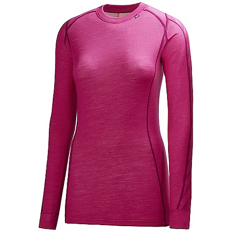 On Sale. Free Shipping. Helly Hansen Women's HH Warm Ice Crew Top FEATURES of the Helly Hansen Women's HH Warm Ice Crew Top HHWarm Flatlock stitching Alergy neutral Non itch Pure merino wool LIFA Stay Dry Technology - $49.99