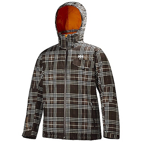 Ski Free Shipping. Helly Hansen Men's JPN Jacket DECENT FEATURES of the Helly Hansen Men's JPN Jacket Helly Tech Professional Waterproof and breathable fabric Fully seam sealed 2-layer construction WarmCore by PrimaLoft 100g fully insulated Recco reflector Mechanical venting zippers Articulated elbows Snap away powder skirt Full time adjustable hood Multiple exterior pockets Internal pockets Ski-pass pocket YKK zippers The SPECS Fabrics: 100% Polyester Weight: 900 g Fabric Value: 17000 mm / 19000 g This product can only be shipped within the United States. Please don't hate us. - $324.95