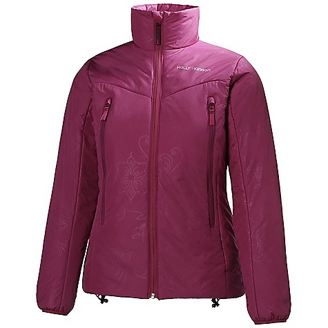 On Sale. Free Shipping. Helly Hansen Women's Cross Insulator Jacket DECENT FEATURES of the Helly Hansen Women's Cross Insulator Jacket Ripstop down fabric 100g WarmCore by Primaloft insulation YKK Center front zipper YKK Zipped hand pockets Bottom hem adjustment cord Elastic cuffs Highly compressable Harness and pack compatible design Eco DWR treatment The SPECS Weight: 480 g Fabric: 100% Polyester This product can only be shipped within the United States. Please don't hate us. - $102.99