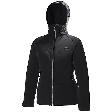 Ski Free Shipping. Helly Hansen Women's Enigma Jacket DECENT FEATURES of the Helly Hansen Women's Enigma Jacket Helly Tech Professional Waterproof and breathable fabric Fully seam sealed 4 way full stretch fabric Insulated 2-layer construction Prim aloft Infinity 120g Recco Advanced Rescue system Flow System mechanical venting for optimal comfort Articulated arms and elbows for superior fit Zip-away powder skirt Detachable, adjustable hood Dual hand warming pockets and game pocket Internal pockets for goggles and electronics Ski-pass pocket YKK water resistant zippers Feminine fit The SPECS Fitting: Fitted Weight: 1440 gram 85% Polyamide, 15% Elastane This product can only be shipped within the United States. Please don't hate us. - $699.95