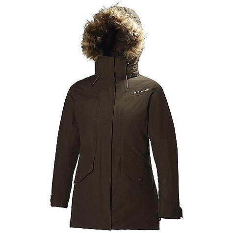 On Sale. Free Shipping. Helly Hansen Women's Hilton 2 Jacket DECENT FEATURES of the Helly Hansen Women's Hilton 2 Jacket Polyester/Nylon m2lange material with hydrophillic lamination Warmcore by Primaloft The SPECS Weight: 1010 g Fabric: 52% Polyester 48% Polyamide This product can only be shipped within the United States. Please don't hate us. - $208.99