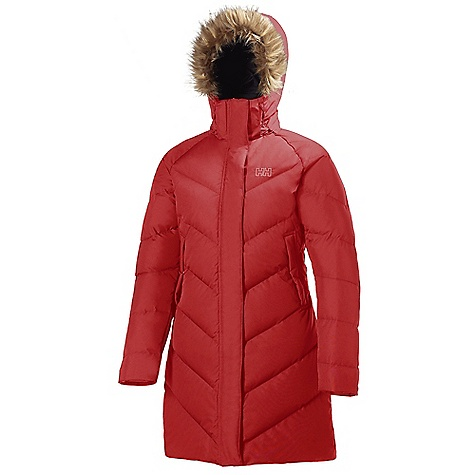 On Sale. Free Shipping. Helly Hansen Women's Aden Puffy Parka DECENT FEATURES of the Helly Hansen Women's Aden Puffy Parka Water-resistant and breathable fabric DWR treatment Fully insulated Allied Down Feather 550 European Goose Down 3/4 length Regular feminine fit Exterior and interior pockets Adjustable hood YKK zippers Faux fur Front plaquet HH outline logo on chest The SPECS Fitting: Regular 100% Polyester This product can only be shipped within the United States. Please don't hate us. - $208.99