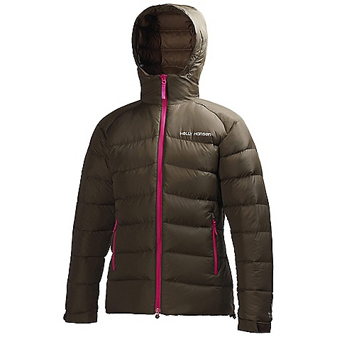 Free Shipping. Helly Hansen Women's Quebec Down Jacket DECENT FEATURES of the Helly Hansen Women's Quebec Down Jacket Pertex classic durable oxford nylon down fabric Allied down European goose Fill power 700+ YKK Vislon center front zip Storm flap Full time hood One hand hood adjustments Double shoulder construction YKK zipped hand pockets YKK zipped chest pocket Adjustable cuffs Bottom hem Cinch cord Highly compressable Comes with stuffsack Harnesss and pack compatible design DWR Treatment Featured functional down jacket with hood The SPECS Fitting: Regular 100% Polyamide This product can only be shipped within the United States. Please don't hate us. - $349.95