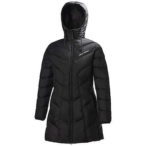 On Sale. Free Shipping. Helly Hansen Women's Svalbard Long Down Jacket DECENT FEATURES of the Helly Hansen Women's Svalbard Long Down Jacket 100% Polyamide down proof ribstop Allied Down 85/15 Europen goose down Fill power 700+ The SPECS Weight: 740 g Fabric: 100% Polyamide This product can only be shipped within the United States. Please don't hate us. - $261.99