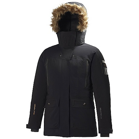 Free Shipping. Helly Hansen Women's X Warm Parka DECENT FEATURES of the Helly Hansen Women's X Warm Parka 100% Polyamide 2Layer, mechanical stretch Allied Down 85/15 Europen goose down Fillpower 700+ The SPECS Weight: 1450 g Fabric: 100% Polyamide This product can only be shipped within the United States. Please don't hate us. - $799.95