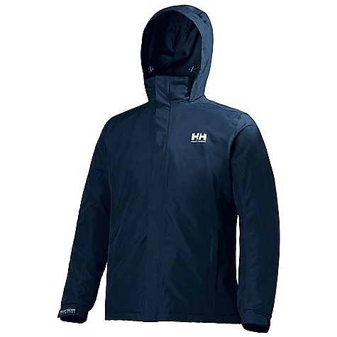 Free Shipping. Helly Hansen Men's Dubliner Quilted Jacket DECENT FEATURES of the Helly Hansen Men's Dubliner Quilted Jacket 100% Polyester with microporous coating and DWR Helly Tech Protection Warmcore by Primaloft The SPECS Fabric: 100% Polyester Weight: 750 g This product can only be shipped within the United States. Please don't hate us. - $150.00