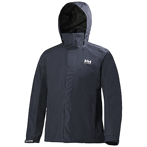 On Sale. Free Shipping. Helly Hansen Men's Dubliner Jacket DECENT FEATURES of the Helly Hansen Men's Dubliner Jacket Helly Tech Protection Waterproof, windproof and breathable DWR treatment Fully seam sealed 2-Layer construction Exterior and interior pockets YKK zippers The SPECS Fitting: Regular 100% Polyester This product can only be shipped within the United States. Please don't hate us. - $89.99
