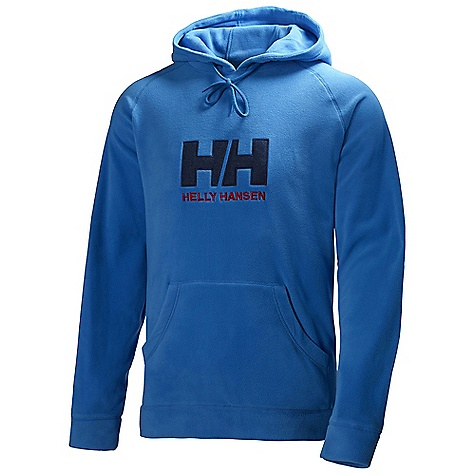 Free Shipping. Helly Hansen Men's HH Fleece Logo Hoodie DECENT FEATURES of the Helly Hansen Men's HH Fleece Logo Hoodie Polar Tec 100 gram classic micro fleece Lightweight and quick dry Comfortable stretch Kangaroo pocket Hood drawstring HH logo on chest The SPECS Fitting: Regular 100% Polyester This product can only be shipped within the United States. Please don't hate us. - $69.95