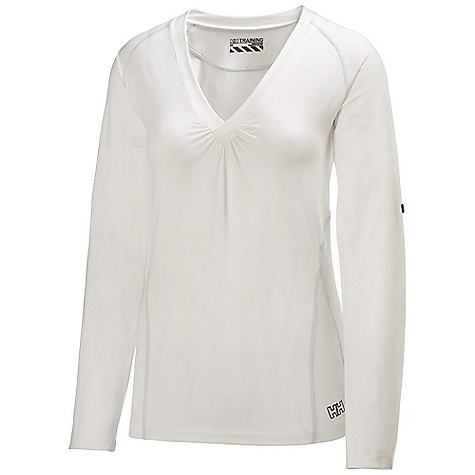Free Shipping. Helly Hansen Women's Harmony LS Top DECENT FEATURES of the Helly Hansen Women's Harmony Long Sleeve Top 95% Polyamide, 5% Spandex Soft Jersey with Cotton touch The SPECS Weight: 230 g Fabric: 95% Polyamide 5% Spandex This product can only be shipped within the United States. Please don't hate us. - $59.95