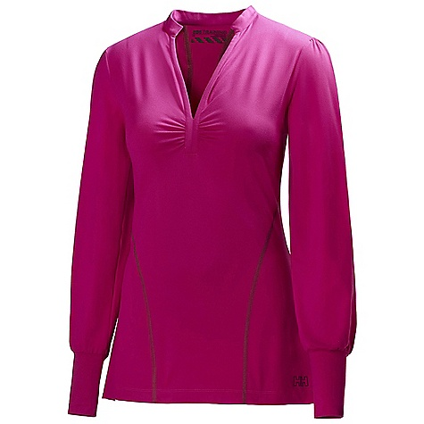 Free Shipping. Helly Hansen Women's Harmony Tunic DECENT FEATURES of the Helly Hansen Women's Harmony Tunic Soft Jersey with Cotton touch The SPECS Weight: 230 g Fabric: 95% Polyamide 5% Spandex This product can only be shipped within the United States. Please don't hate us. - $59.95