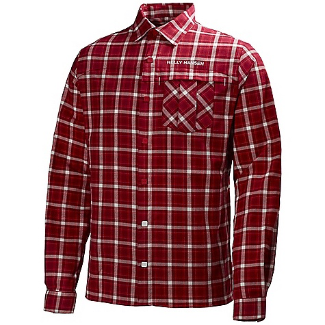 On Sale. Free Shipping. Helly Hansen Men's Odin Flannel Shirt DECENT FEATURES of the Helly Hansen Men's Odin Flannel Shirt Cotton flannel Chest pockets Helly Hansen logo on chest Hanger loop at back The SPECS Fitting: Regular 100% Cotton This product can only be shipped within the United States. Please don't hate us. - $66.99