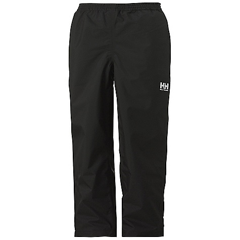 Free Shipping. Helly Hansen Juniors' Dubliner Pant DECENT FEATURES of the Helly Hansen Junior Dubliner Pant Helly Tech Protection Waterproof, windproof and breathable Fully seam sealed 2-layer construction Articulated knees Elastic waist Regular fit The SPECS Weight: 1050 gram 100% Polyester This product can only be shipped within the United States. Please don't hate us. - $54.95