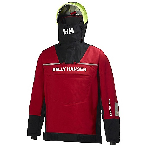 Free Shipping. Helly Hansen Ocean Drytop DECENT FEATURES of the Helly Hansen Ocean Drytop Helly Tech Professional 3 layer quickdry construction 3/4-length regular fit Extra high ocean collar Polartec fleece collar Fully adjustable hood EN-471 hi-vis hood fabric Stove away face visor Rubber neck and cuffs Adjustable cuffs Neoprene adjustable waist Solas reflectives Kangaroo pocket Articulated arms and elbows One hand adjustable hem Hanger hook The SPECS Fitting: Regular fit Fabric: 100% Polyamide This product can only be shipped within the United States. Please don't hate us. - $699.95