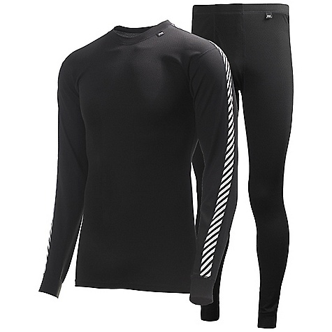 Free Shipping. Helly Hansen Men's HH Dry 2-Pack DECENT FEATURES of the Helly Hansen Men's HH Dry 2-Pack HH Dry Flat lock stitching Light insulation, breathability and moisture management The SPECS Fitting: Regular 100% Polypropylene This product can only be shipped within the United States. Please don't hate us. - $79.95