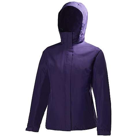 On Sale. Free Shipping. Helly Hansen Women's New Aden Jacket DECENT FEATURES of the Helly Hansen Women's New Aden Jacket Helly Tech Protection Waterproof, windproof and breathable DWR treatment Fully seam sealed 2-layer construction Regular feminine fit Exterior and interior pockets Adjustable cuffs Front plaquet YKK zippers Outline HH logo on chest The SPECS 100% Polyester This product can only be shipped within the United States. Please don't hate us. - $70.99