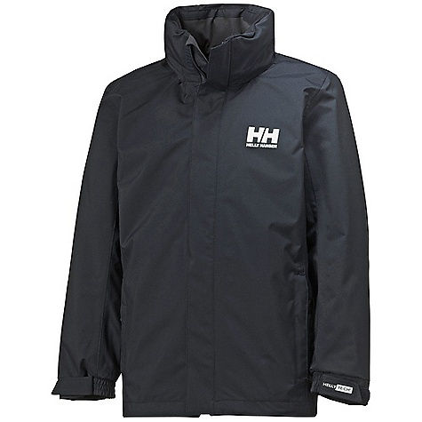 Free Shipping. Helly Hansen Juniors' Dubliner Jacket DECENT FEATURES of the Helly Hansen Junior Dubliner Jacket Helly Tech Protection Waterproof, windproof and breathable Fully seam sealed 2-layer construction Detachable, adjustable hood Adjustable cuffs Hand pockets YKK zippers Front plaquet Regular fit The SPECS Weight: 710 gram 100% Polyester This product can only be shipped within the United States. Please don't hate us. - $89.95