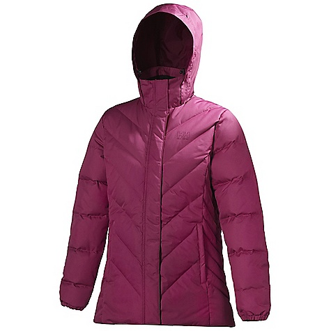 Free Shipping. Helly Hansen Women's Aden Down Jacket DECENT FEATURES of the Helly Hansen Women's Aden Down Jacket Water-resistant and breathable fabric DWR treatment Fully insulated Allied Down Feather 550 European Goose Down Hip length Regular feminine fit Exterior and interior pockets YKK zippers Front plaquet HH outline logo on chest Back drop The SPECS Fitting: Regular Weight: 242 gram 100% Polyester This product can only be shipped within the United States. Please don't hate us. - $219.95