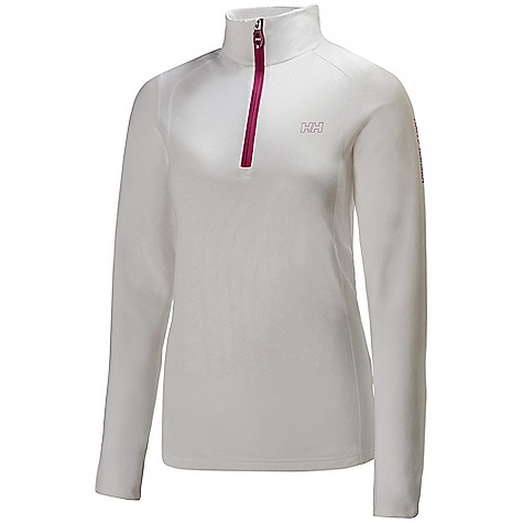 On Sale. Free Shipping. Helly Hansen Women's Magnitude Midlayer 1-2 Zip Top DECENT FEATURES of the Helly Hansen Women's Magnitude Midlayer 1/2 Zip Top Slick face light weight Polyester with brushed inside 1/2 Zip construction The SPECS Weight: 246 g Fabric: 94% Polyester 6% Spandex This product can only be shipped within the United States. Please don't hate us. - $63.99