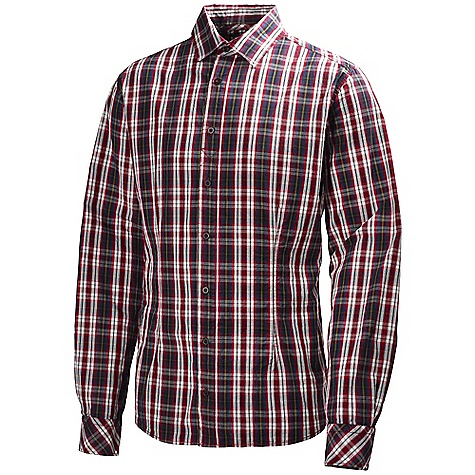 Free Shipping. Helly Hansen Men's Navigare Shirt DECENT FEATURES of the Helly Hansen Men's Navigare Shirt Checked poplin The SPECS Fabric: 100% Cotton Weight: 230 g This product can only be shipped within the United States. Please don't hate us. - $89.95