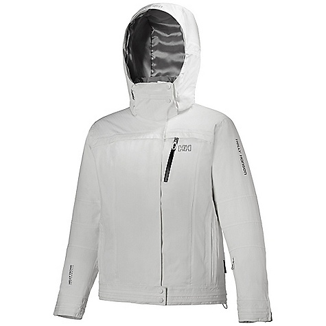 Ski Free Shipping. Helly Hansen Women's Duchy Jacket DECENT FEATURES of the Helly Hansen Women's Duchy Jacket Helly Tech Protection Waterproof and breathable fabric Fully seam sealed Insulated 2-layer construction WarmCore by PrimaLoft 100g fully insulated RECCO reflector Mechanical venting zippers Articulated elbows Snap away powder skirt Detachable, adjustable hood Multiple exterior pockets Internal pockets Ski-pass pocket YKK zippers The SPECS Weight: 1200 g Fabric: 95% Polyamide 5%CD Polyester This product can only be shipped within the United States. Please don't hate us. - $329.95