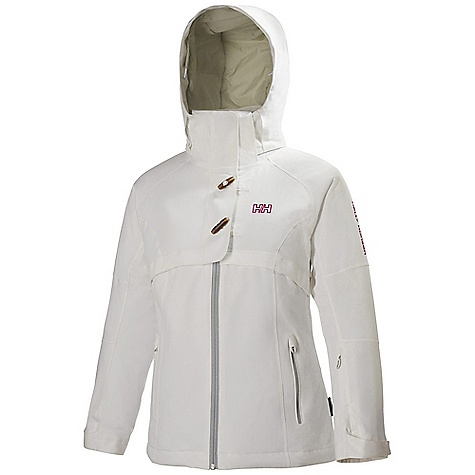 Ski Free Shipping. Helly Hansen Women's Switch Jacket DECENT FEATURES of the Helly Hansen Women's Switch Jacket Helly Tech performance Waterproof and breathable fabric Fully seam sealed Herringbone structured fabric Insulated 2-layer construction Warm Core by Prim aloft 100g Recco Advanced Rescue system Mechanical venting zippers Articulated arms for extra mobility Fixed and adjustable hood Dual hand warming pockets Internal pockets for goggles and electronics Ski-pass pocket YKK water resistant zippers The SPECS Fitting: Regular Weight: 1085 gram 100% Polyester This product can only be shipped within the United States. Please don't hate us. - $324.95