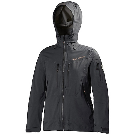 Free Shipping. Helly Hansen Women's Odin Mountain Jacket DECENT FEATURES of the Helly Hansen Women's Odin Mountain Jacket Helly Tech Professional 3Ply construction Full stretch YKK Aquaguard VT9 Vislon center front zipper 3d welded shoulder reinforcements Attached helmet compatible hood One hand hood adjustment Welded YKK Aquaguard zip chest pocket Welded YKK Aquaguard zip hand pockets Odin window sleeve pocket Extra long YKK Aquaguard pit zips Recco reflector Zip-out softshell snowskirt Bottom hem elastic adjustment Fusion modular system jacket to pant zip Harness and pack compatible design Eco DWR treatment The SPECS Weight: 650 g Fabric: 100% Polyamide This product can only be shipped within the United States. Please don't hate us. - $599.95