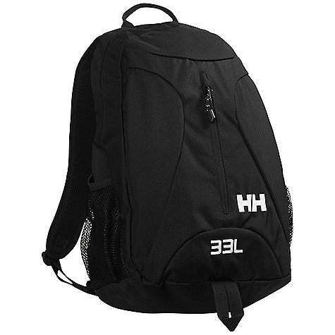 Helly Hansen Aden Back Pack DECENT FEATURES of the Helly Hansen Aden Back Pack Highly durable nylon main fabric 33 liter 3 Compartments Padded back and straps Dura flex buckles The SPECS 100% Polyester This product can only be shipped within the United States. Please don't hate us. - $44.95