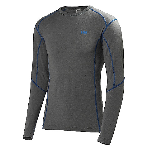 Free Shipping. Helly Hansen Men's HH Wools LS Crew Top The SPECS Fabric Weight: 195g/m2 Fabric: 100% Merino Wool This product can only be shipped within the United States. Please don't hate us. - $89.95