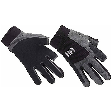 Helly Hansen Sailing Glove - Long DECENT FEATURES of the Helly Hansen Sailing Glove - Long Amaro leather Adjustable wrist Reinforcements in exposed areas Unisex The SPECS Fabric: 100% Synthetic Leather This product can only be shipped within the United States. Please don't hate us. - $29.95