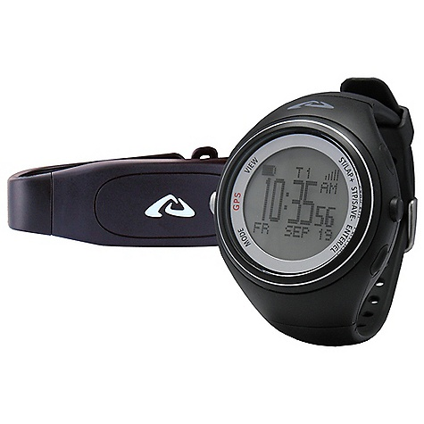 Fitness Free Shipping. Highgear XT7 Alti-GPS Watch DECENT FEATURES of the Highgear XT7 Alti-GPS Watch Mineral Glass Lens Displays in Metric or Imperial Units EL Backlight / Smart EL Backlight System Rechargeable Battery (Watch) via USB Charging Cable (Included) 30m Water Resistant User Replaceable Battery (Chest Strap Only) The SPECS for Navigation Waypoints: 100 Location Presets Waypoints Stored By: Name, Latitude / Longitude, Altitude or Date Track Points: 25.000 Points Stored Cardinal North Indicator The SPECS for Speed and Distance (SDM) Monitors: Speed, Distance, Pace Displays Average Speed / Pace The SPECS for Altimeter Displays in Feet or Meters Range: -2.312ft to +30.045ft / -700m to +9.000m Resolution: 1ft / 1m Vertical Speed: Rate of Ascent and Descent Accumulated and Maximum Altitude % Slope Gradient Altitude Differential The SPECS for Barometer Displays Sea-Level and Absolute Pressure in Millibar (mbar) / Hectopascal (hPa) or Inches of Mercury (inHg) Range: 300mbar (hPa) to 1.100mbar (hPa) / 8.85inHg to 32.50inHg Resolution: 1mbar (hPa) / 0.01inHg Weather Forecast 24 Hour Graphic Pressure Trend Display with Recall The SPECS for Thermometer Displays in Fahrenheit or Celsius Range: +14deg F to +122deg F / -10deg C to +50deg C Resolution: 0.1deg F / 0.1deg C The SPECS for Heart rate (HRM) 2.4 GHz Digitally Coded Chest Strap (Included) for Continuous ECG Accurate Heart Rate (HR) Readings 3 Auto Intensity Levels Based on Maximum HR: Fitness (55-70%), Endurance (70-80%), Training (80-100%) Auto or Custom Set HR Zones Alert in Target HR Zones The SPECS for Chronograph / Run Data Range: 100 Hours Resolution: 1/100 Second 300 Laps / Splits 50 Run Memory with Data Recall Display Presets with 3-Line Multi-View Auto Lap: Automatically Takes a Lap at a User Set Distance (i.e. every mile) The SPECS for Time / Alarms Displays Time in 12-Hour or 24-Hour Format Time / Day / Date Dual Time Zone 5 Daily Alarms - $189.95