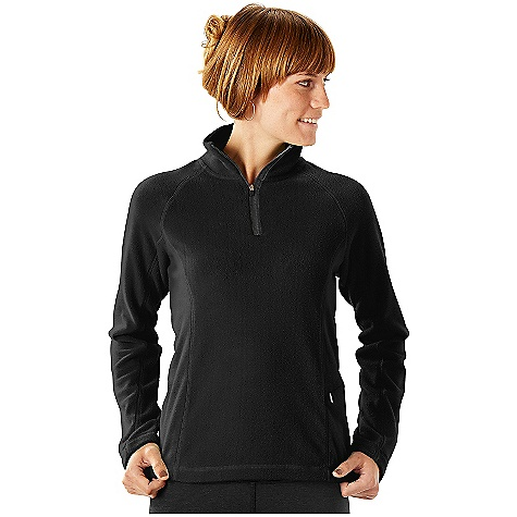 On Sale. Free Shipping. Horny Toad Women's Tonic 1-4 Zip FEATURES of the Women's Tonic 1/4 Zip Fleece by Horny Toad Quarter-zip mock neck with exposed zipper tape Raglan sleeves Princess seams Angled zip stash pocket on left side panel Fabric: 100% micro polyester. - $50.99