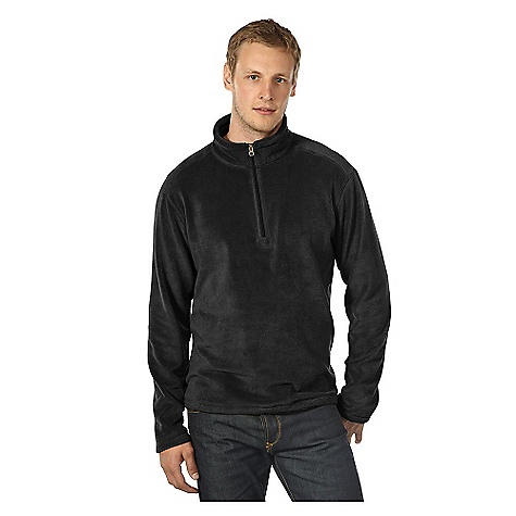 On Sale. Free Shipping. Horny Toad Men's Quarterflash Top DECENT FEATURES of the Horny Toad Men's Quarterflash Top Stand-up collar Quarter-front zipper Hidden zipper pocket at side seam Coverstitch detailing The SPECS Fabric: Cashmoore is 100% micro polyester - $49.99