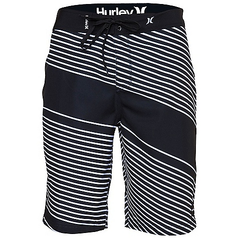Surf On Sale. Free Shipping. Hurley Men's Void Boardshort DECENT FEATURES of the Hurley Men's Void Premium Fit 30 singles 100% Cotton solids and 53% Cotton/47% Polyester heathers Woven icon loop label, screen-printed inside neck, and soft-hand print - $15.99