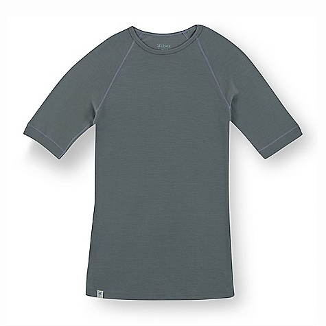 Free Shipping. Ibex Men's Woolies SS Top DECENT FEATURES of the Ibex Men's Woolies Short Sleeve Top Form fit 1in. cuffs Flatlock seams Tag-free labels Imported The SPECS 100% ZQ New Zealand Merino Wool 18.5 micron Lightweight Rib Knit 150 g/m2 - $70.00