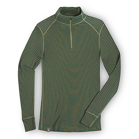 Free Shipping. Ibex Men's Woolies Zip Tee Stripe Top DECENT FEATURES of the Ibex Men's Woolies Zip Tee Stripe Top Form fit 9in. zip neck with locking pull Set-in sleeves Wide sleeve cuff detail Flatlock seams Tag-free labels Imported The SPECS 100% ZQ New Zealand Merino Wool 18.5 micron Lightweight Rib Knit 150 g/m2 - $90.00
