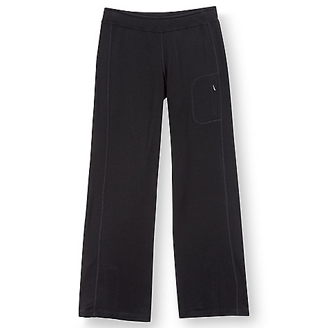Free Shipping. Ibex Women's Jaci Pant DECENT FEATURES of the Ibex Women's Jaci Pant Semi-fit, wide leg Zippered thigh pocket Inseam: extra small: 30.5in., small: 31in., M,L,XL=31.5in. The SPECS Fabric: 100 % Zque New Zealand Merino Wool 18.5 Micron French Terry Knit 230 g/m2 - $134.95