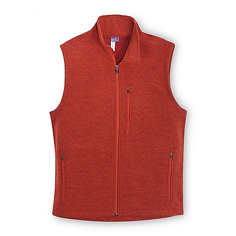 Free Shipping. Ibex Men's Scout Vest Hvy DECENT FEATURES of the Ibex Men's Scout Vest Hvy Semi-fit Midlayer warmth Full front zip Locking zipper on hand and chest pockets Flatlock yoke seams The SPECS Fabric: 93% Zque New Zealand Merino Wool, 7% Polyester 21 Micron Heavy Milled Merino Boucle 420 g/m2 - $159.95