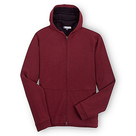 On Sale. Free Shipping. Ibex Men's Pez FZ Hoody DECENT FEATURES of the Ibex Men's Pez FZ Hoody Relaxed fit Midlayer warmth Full zip front with zippered Hand warmer pockets Cuffed hem and sleeve openings Flatlock raglan and hood seams The SPECS Fabric: 90% Zque New Zealand Merino Wool, 10% Nylon 21 Micron Double Faced Milled Knit 290 g/m2 - $127.99