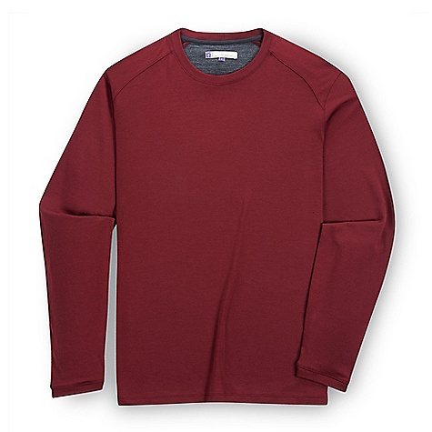 Free Shipping. Ibex Men's Seventeen.5 Nelson Top DECENT FEATURES of the Ibex Men's Seventeen.5 Nelson Top Regular fit Simple and stylish Ultra fine merino Ribbed crew neck Contrast on interior back yoke The SPECS 100% ZQ New Zealand Merino Wool 17.5 micron Ultra Fine Double Knit 165 g/m2 - $130.00
