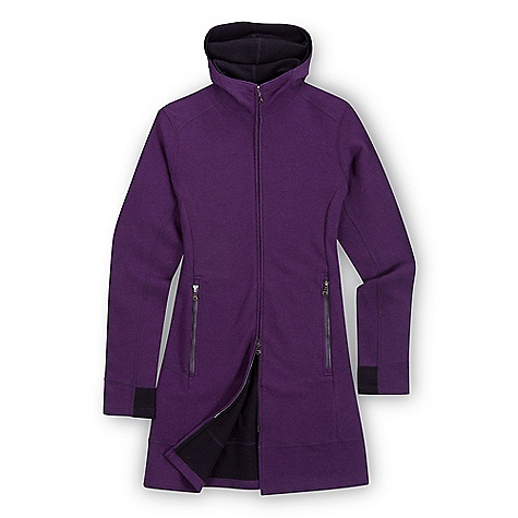 On Sale. Free Shipping. Ibex Women's Pez Long Sweater DECENT FEATURES of the Ibex Women's Pez Long Sweater Semi-fit Mid-layer warmth Full zip with double slider Hood Zippered hand pockets Contrast details The SPECS Center Back Length: 32in. Fabric: 90% Zque New Zealand Merino Wool, 10% Nylon 21 Micron Double Faced Milled Knit 290 g/m2 - $167.99