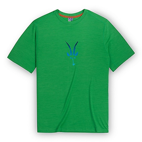 Free Shipping. Ibex Men's Merino Logo SS T DECENT FEATURES of the Ibex Men's Merino Logo Short Sleeve T Semi-fit Flatlock detail at center back Ibex logo screen print at center front The SPECS Fabric: 100% Zque New Zealand Merino Wool 18.5 Micron Lightweight Jersey 150 g/m2 - $74.95